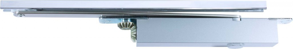 Concealed high efficiency CAM action overhead door closers